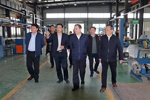 省土木建筑学会参观调研华创生产基地